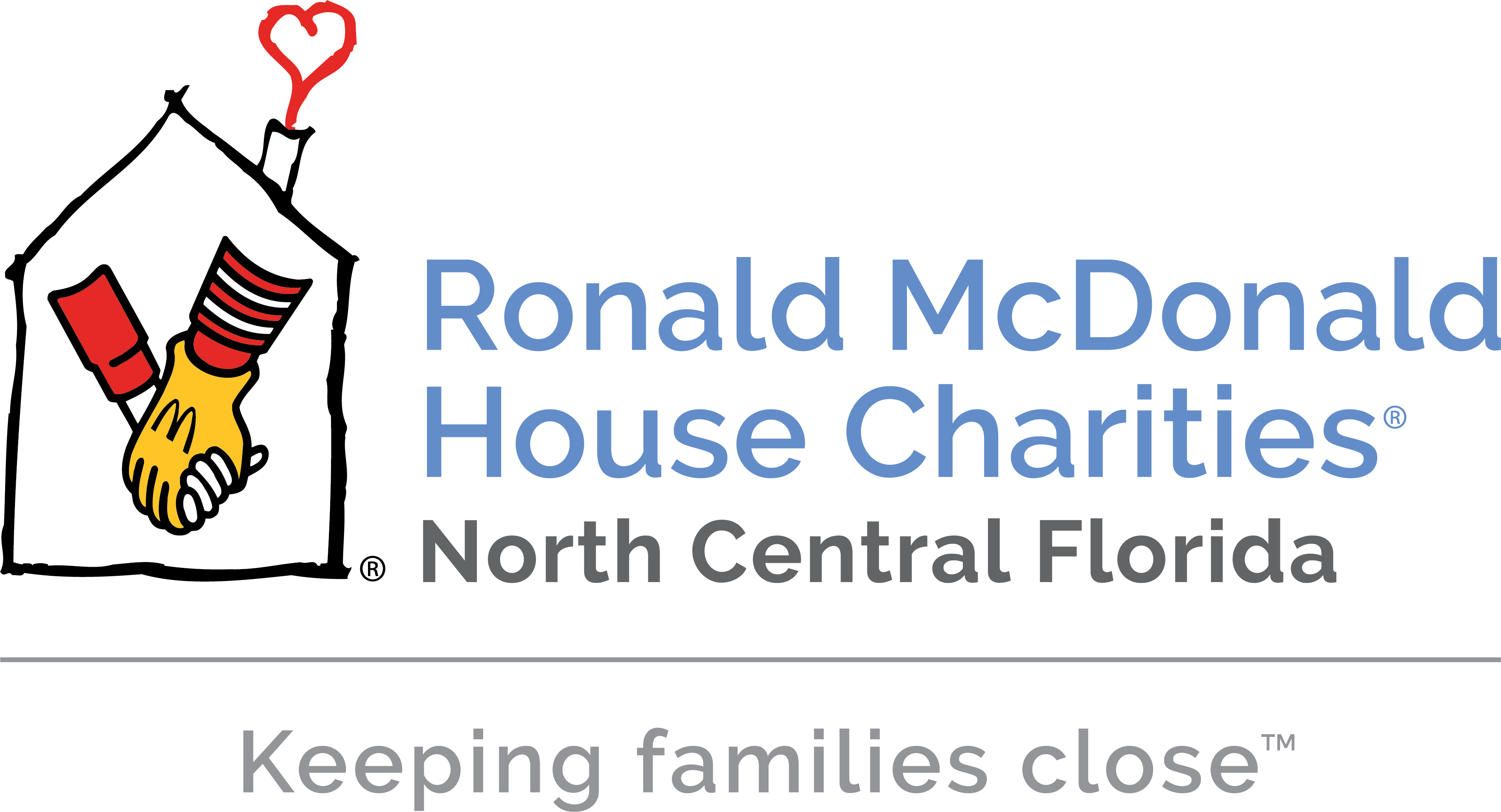 Ronald McDonald House Charities of North Central Florida Logo