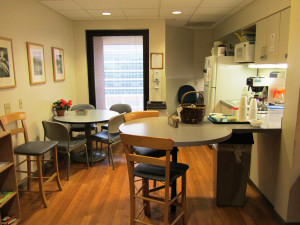 Family Room at UF Health Shands Hospital