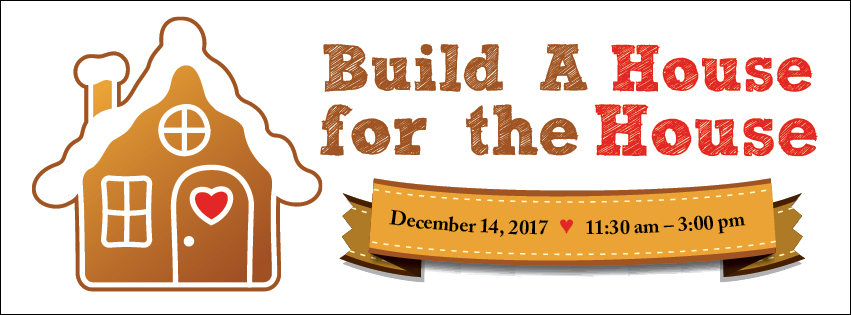 Gingerbread House Event Banner