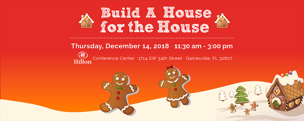 Build A House for the House 2018 Banner