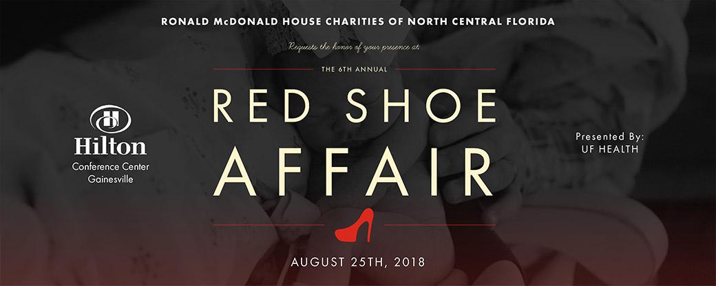 2018 Red Shoe Affair Banner